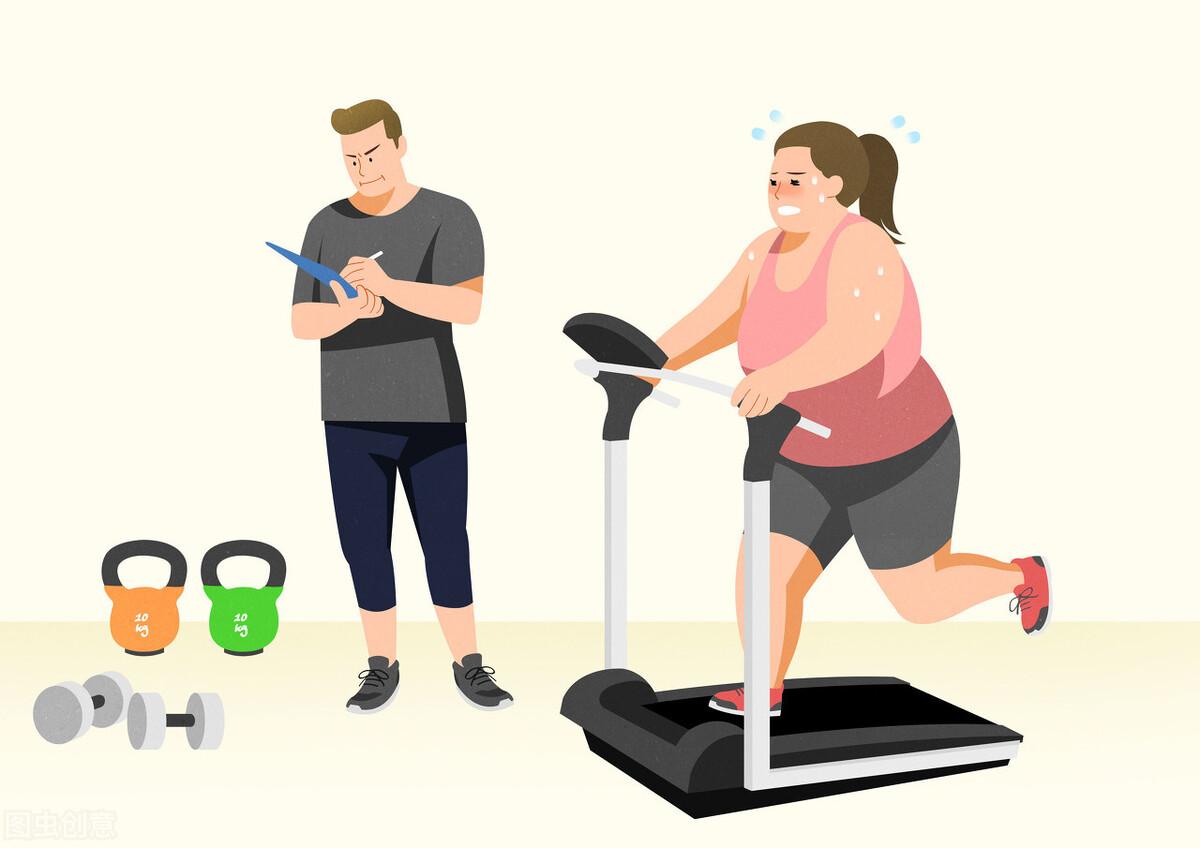 早晚体重差小容易减肥图片