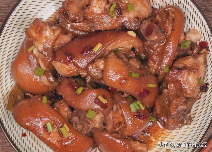 猪蹄这样做太好吃,软烂入味,3步上桌,美味又营养的育儿美食
